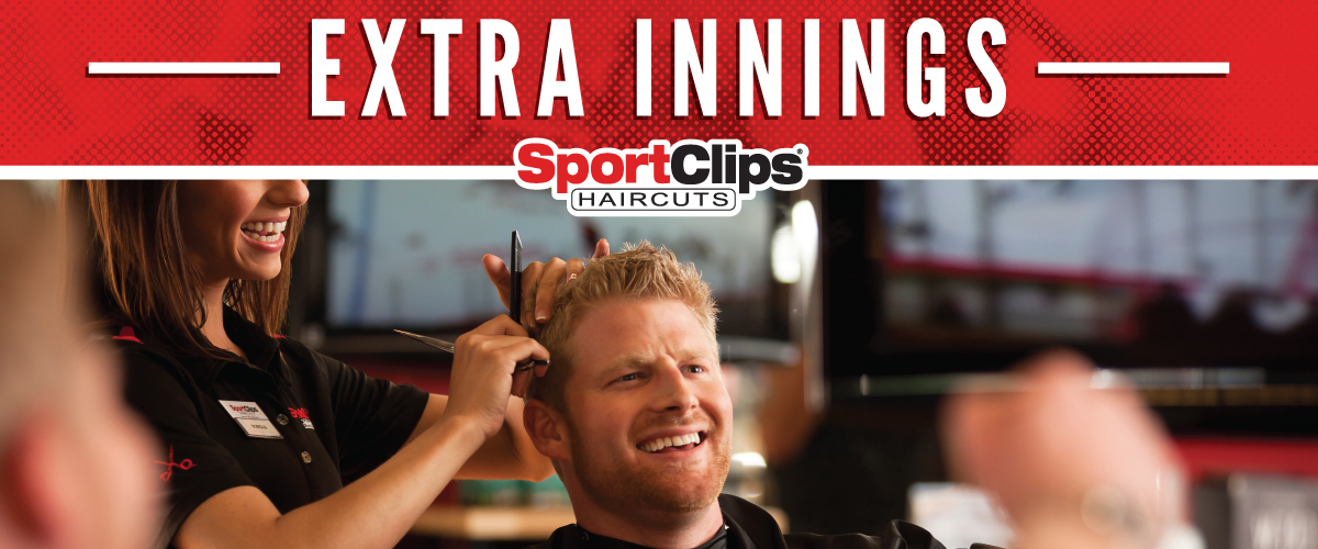 The Sport Clips Haircuts of Elk River Extra Innings Offerings